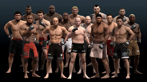 Sixteen Fighters Make Up EA Sports MMA's Heavyweight Division