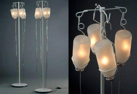 Intravenous Lamp Turns Your Home Into a Prescription Drug Den