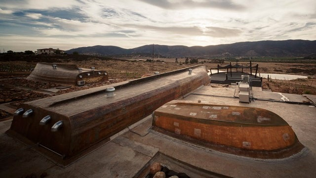 Visit an Incredible Winery Built Out of Abandoned Boats