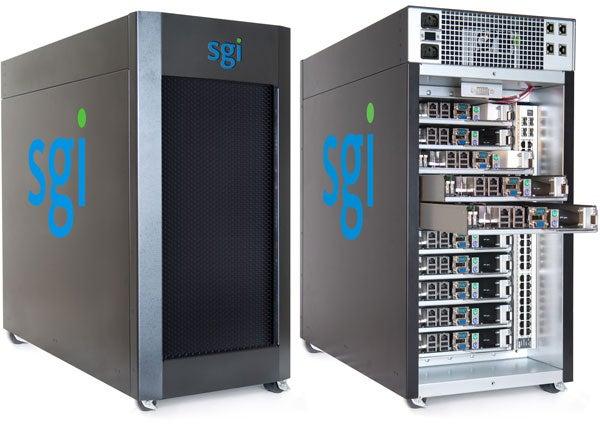 SGI's 'Personal Supercomputer' Handles 80 Cores, 1TB of RAM