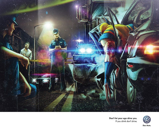 These Confusing PSAs Reveal Even Superheroes Shouldn't Drink And Drive