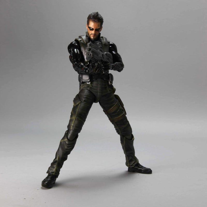 Adam Jensen Lurks Within The PAL Exclusive Deus Ex: Human Revolution Collector's Edition