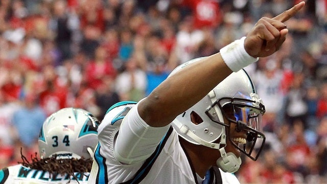 Cam Newton's Trick Play Was My Second-Favorite Moment of the Season