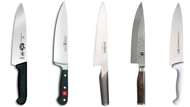 Five Best Chef's Knives