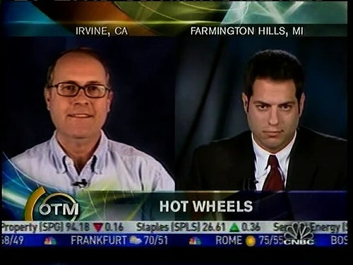 Wert On CNBC This Afternoon Talking GM-Ford Tie-Ups