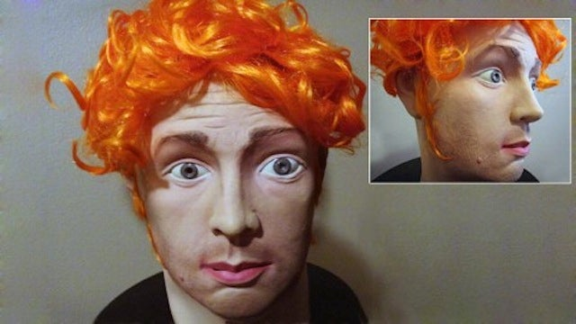 Someone Tried to Sell a James Holmes Halloween Mask on eBay