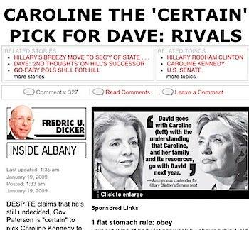 The Media War Over Caroline Kennedy