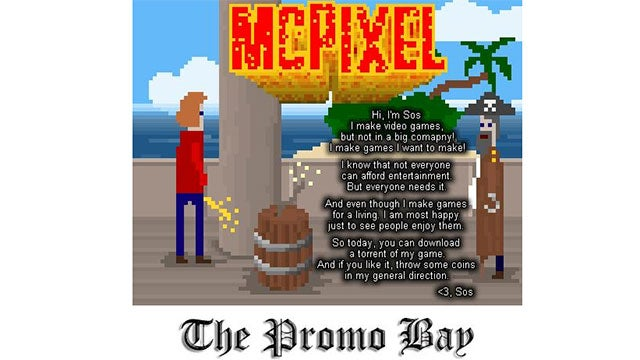 The World's Most Infamous Piracy Website Wants You to Buy This Video Game