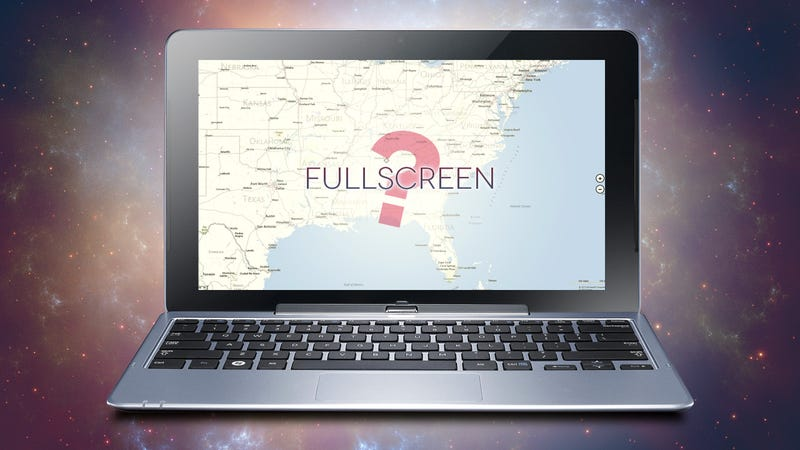 Do You Run Full-Screen Apps in Windows 8?