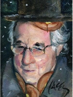 Bernie Madoff: Typical Massage-Getting Jerk Boss