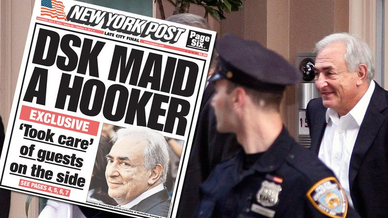 New York Post Calls DSK Accuser a Whore