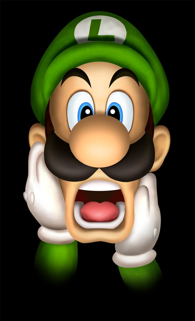 Luigi Has a Bra on His Face