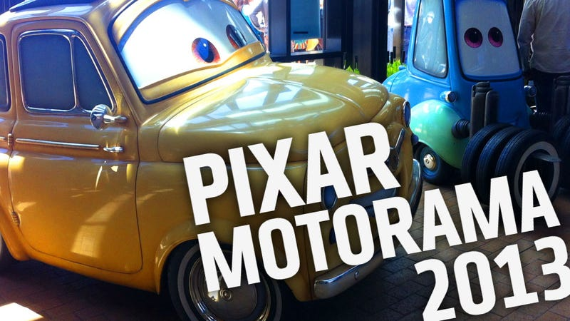 This Is What It's Like Inside Pixar's Secret Car Show