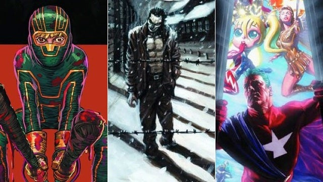 Kick-Ass, The Crow and Astro City return to rule This Week's Comics!