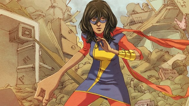 The new Ms. Marvel is here and ready to rock your world