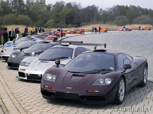 This Is What 21 McLaren F1s Look Like