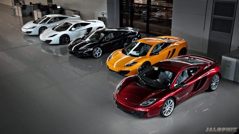 Exclusive: McLaren Factory At Night Gallery