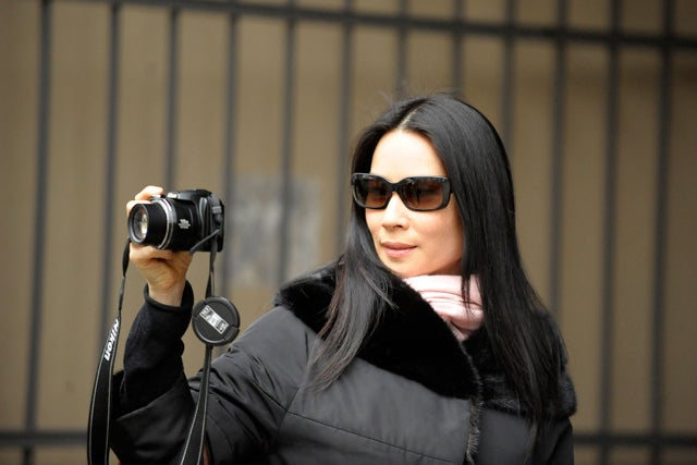 Lucy Liu Takes Her Best Shot