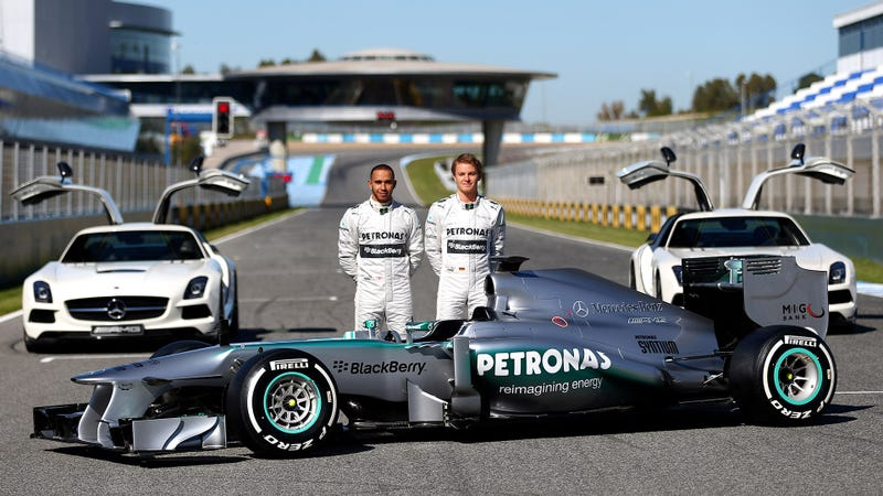 Mercedes W04: This Is Hamilton's and Rosberg's New Hope