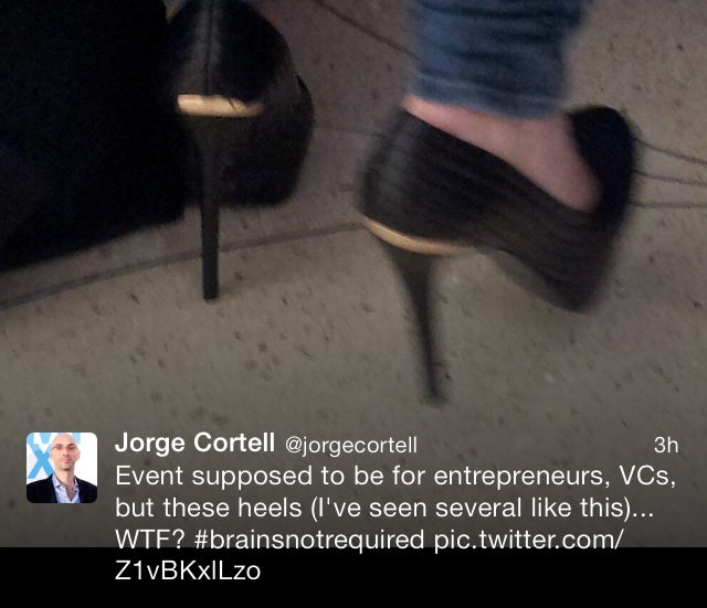 Tech CEO Thinks Women Who Wear High Heels Don't Have a Brain