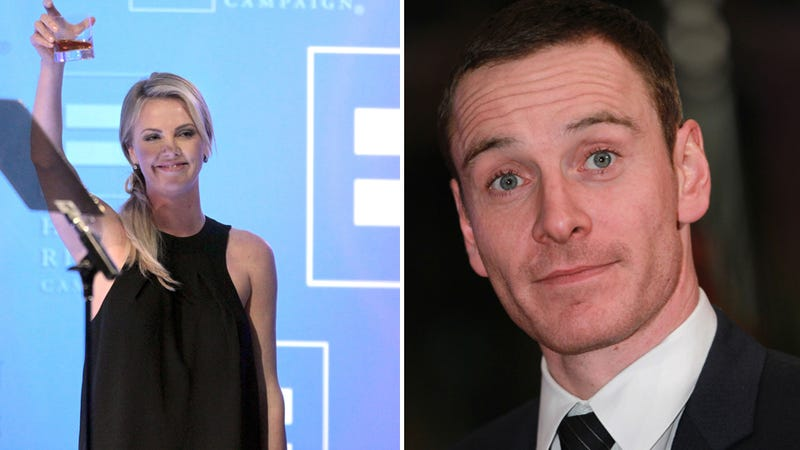 Like The Rest of the World, Charlize Theron is Also Captivated by Michael Fassbender's Penis
