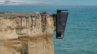 This house is living on the edge, literally