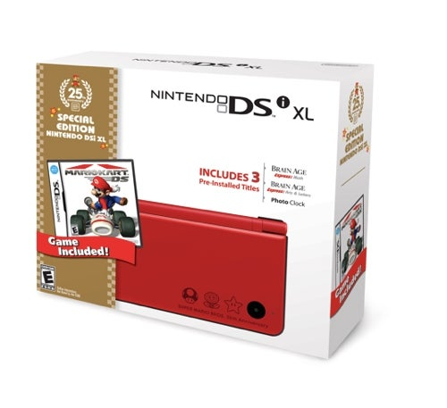 The Red DSi XL Is Official