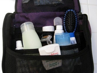 Establish a Permanent Toiletries Bag for Easy and Speedy Packing