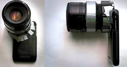 """Make a """"Phone-O-Scope"""" SLR Lens for Your Mobile Phone"""
