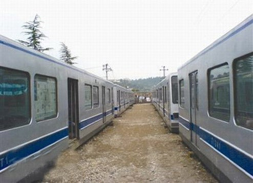 Old Beijing Subway Trains Get Second Life As Homeless Shelters