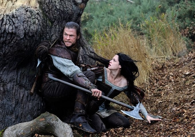 New images from Snow White and the Huntsman