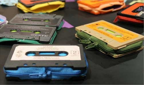Cassette Wallets Let You Carry Nostalgia Around With You