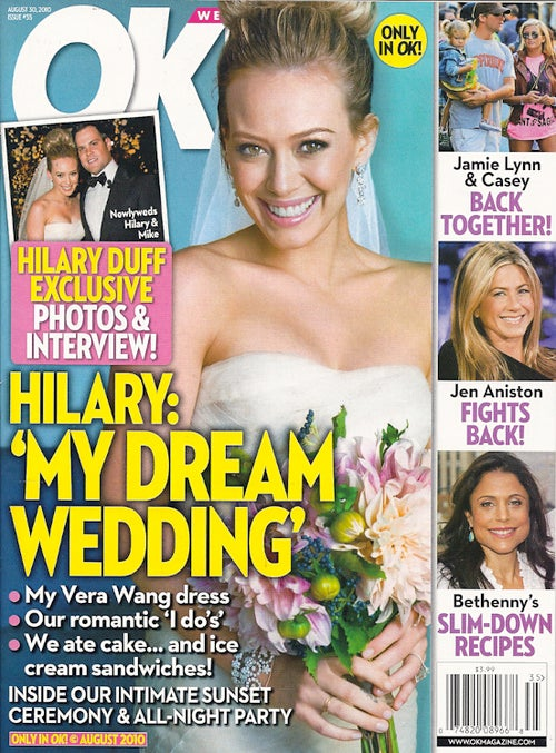 This Week In Tabloids: Hilary Duff Lets A Tabloid Crash Her Wedding