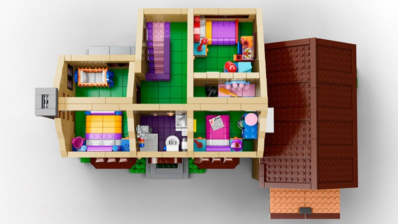 Official photos of the Lego Simpsons House—one of the best sets ever