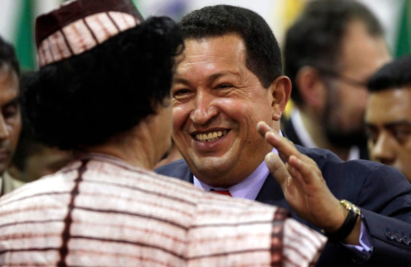 Hugo Chavez Won't Sell Out His 'Friend' Qaddafi