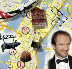 Ralph Fiennes And His Mystery Woman Take Manhattan