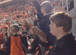 The Time This Kid Realized He Was Waving A Turkey Leg