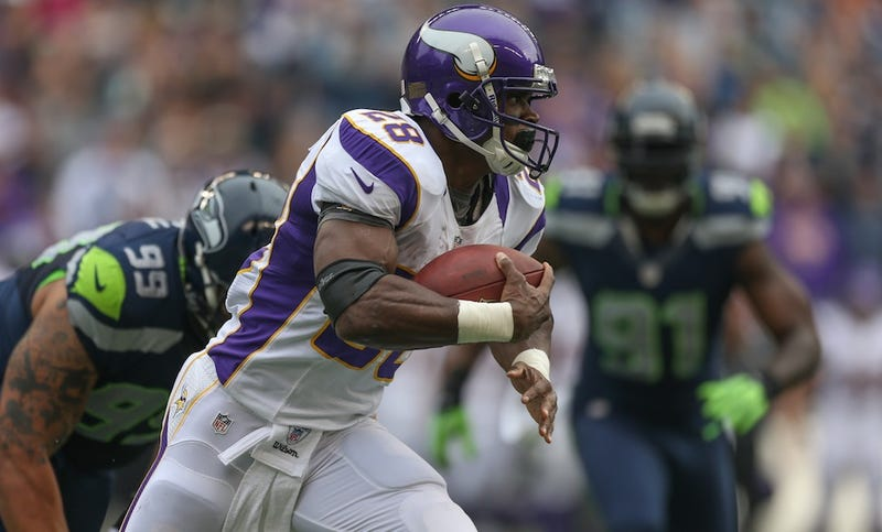 Adrian Peterson Predicts When He'll Break The All-Time Rushing Record