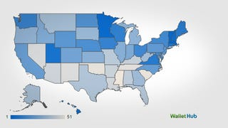 This Chart Shows the Safest States in the US, and Not Just From Crime