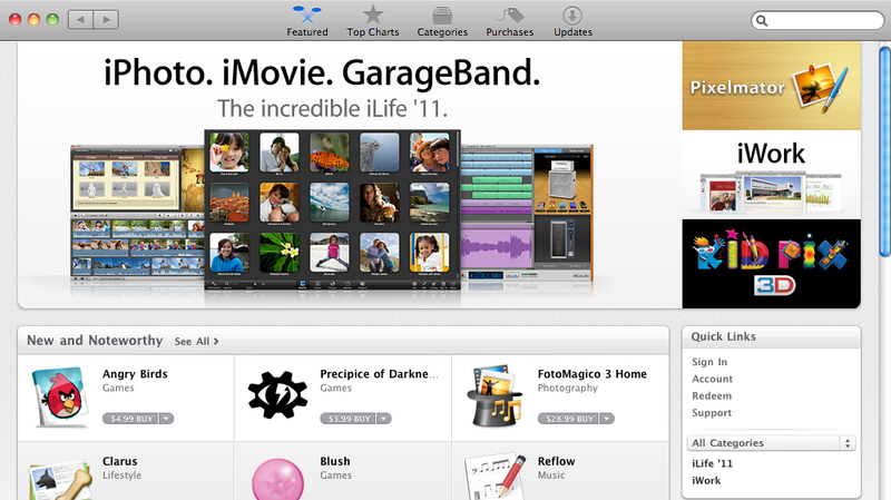First Look at the Mac App Store: Your One-Stop Shop for Mac Software
