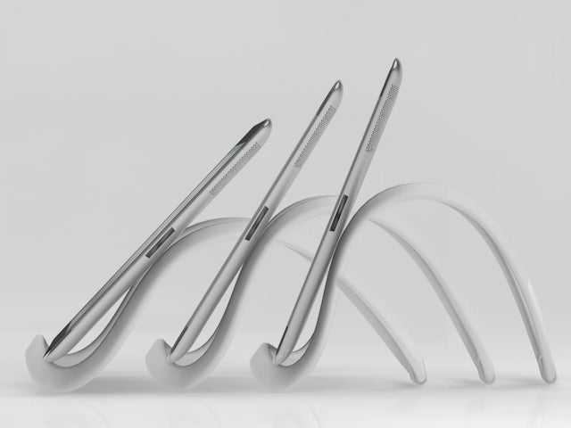 The Infinite Loop Tablet Stand Flexes and Bends to Fit Any Situation