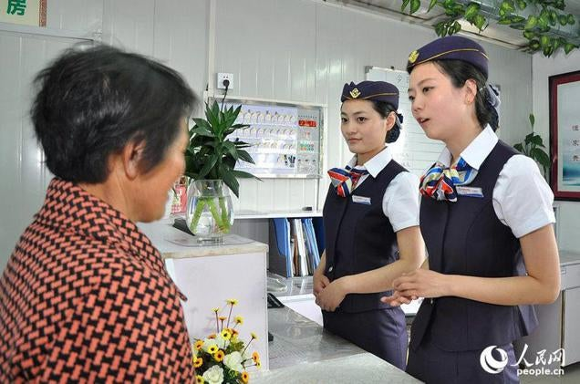 Nurses Cosplay as Flight Attendants at a Chinese Hospital