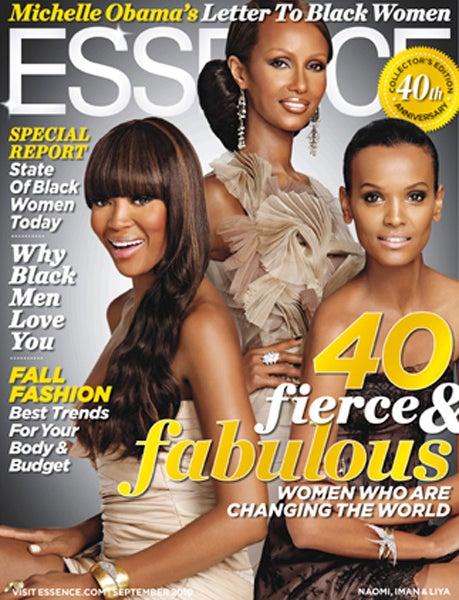 Essence Picks A Trio Of Black Supermodels For September Cover