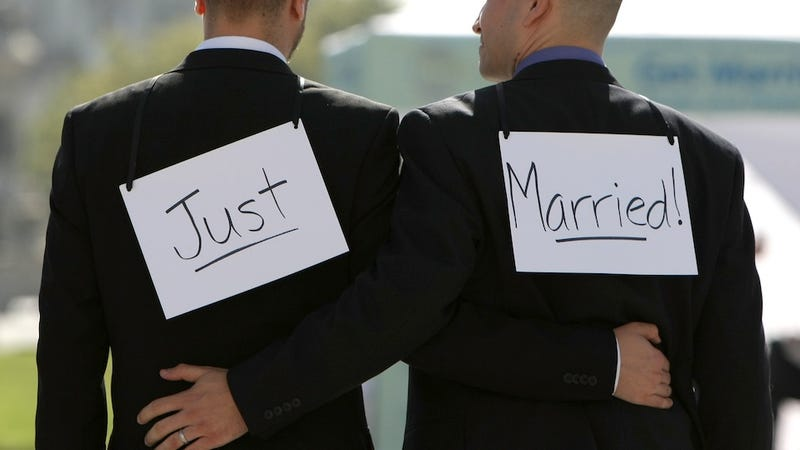 Gay Couples Finally Win Right to Be Pressured About When They're Going to Have Kids