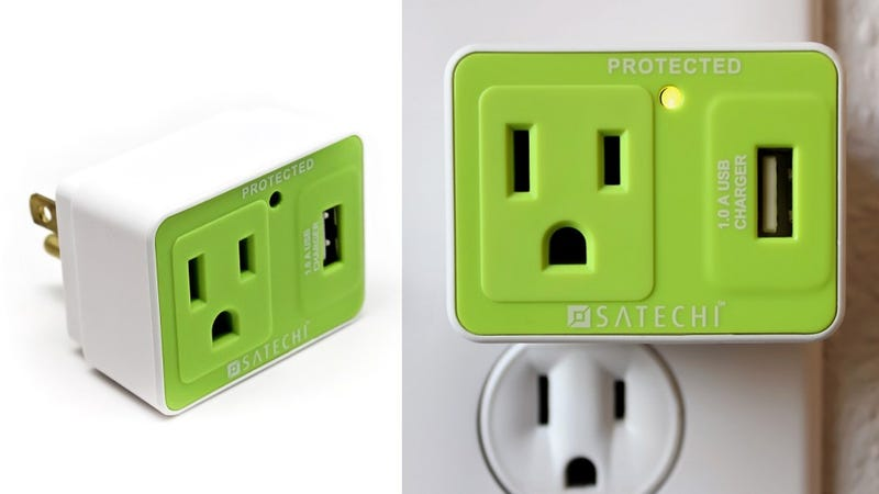 Travel Surge Protector Saves Your Gear From Sketchy Outlets