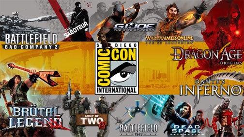 EA Brings Ten Titles To Comic-Con