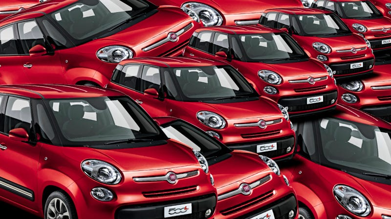 Fiat Reportedly Wants To Blow Up The 500 Family Mini-Style