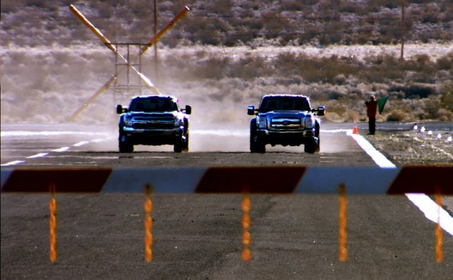 GM: Ford Super Duty's extra power doesn't mean a hill of beans