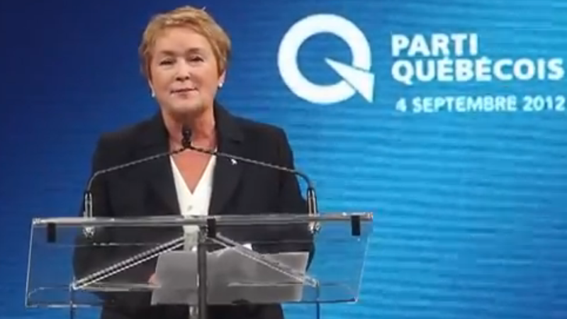 Meet Pauline Marois, Quebec's Controversial First Woman Premier