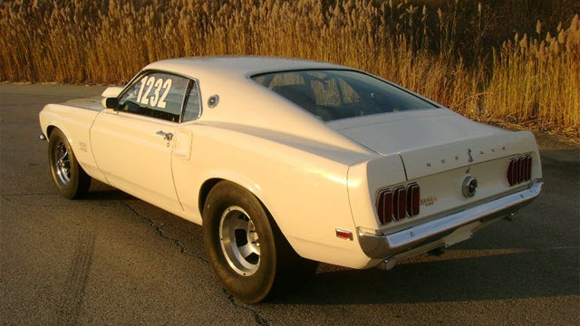 Original and rare 1969 Boss 429 Mustang on Ebay